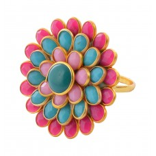 Multicolored Pacchi Ring